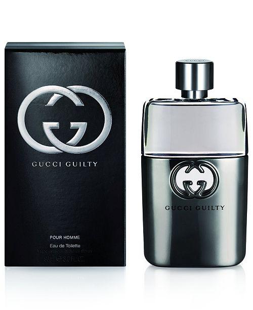 Gucci Guilty Men s Pour Homme Eau de Toilette Spray, 3 oz - All Cologne -  Beauty - Macy s 513b5dcdabf
