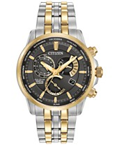 79f0d662eeb8dc Citizen Men's Eco-Drive Two-Tone Stainless Steel Bracelet Watch 42mm  BL8144-54H