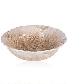 Fitz & Floyd Carrington Collection Cabbage Serving Bowl