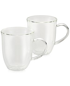 2-Pc. Glass Latte Cup Set