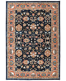 "Karastan Spice Market Zargos Sapphire 3'5"" x 5'5"" Area Rug"