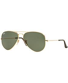 Ray-Ban ORIGINAL AVIATOR Sunglasses, RB3025 58