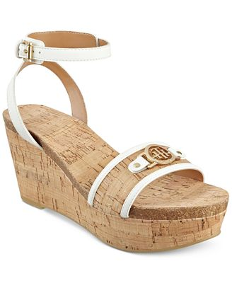 Tommy Hilfiger Hesley Platform Wedge Sandals