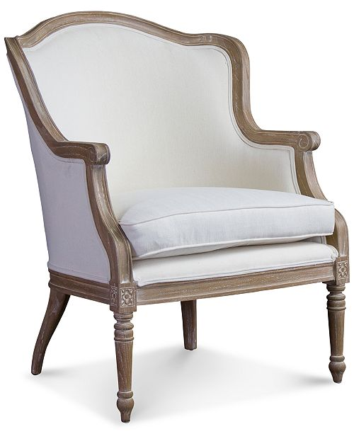 Loftsquare Karine French Accent Chair, Quick Ship