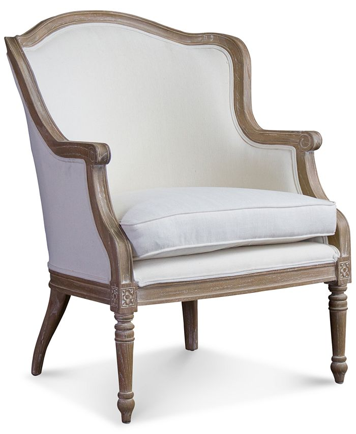 Furniture - Karine French Accent Chair, Direct Ship