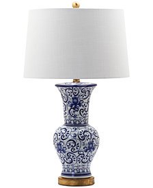Decorator's Lighting Dalton Vase Scroll Table Lamp
