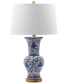 Decorator's Lighting Dalton Vase Scroll Table Lamp