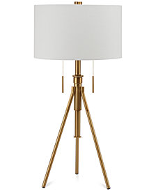 Decorator's Lighting Mantis Adjustable Tripod Table Lamp