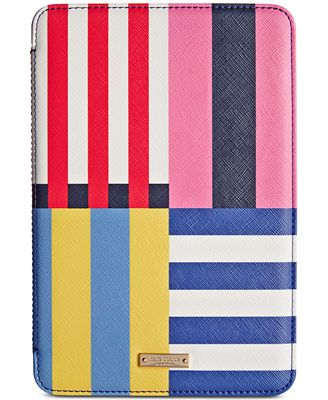 kate spade new york Flag Stripe iPad Mini 2/3 Folio Hardcase