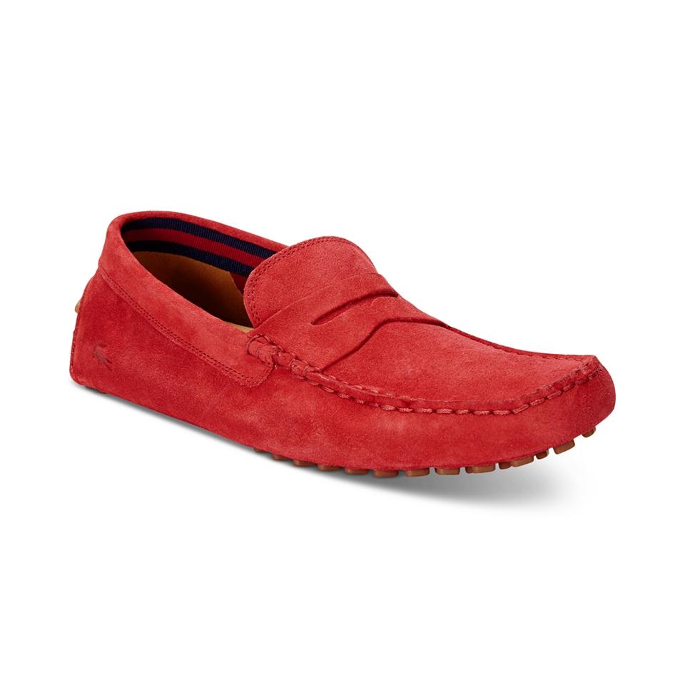 494813c6d9b7 Lacoste Mens Concours Drivers Shoes Men on PopScreen