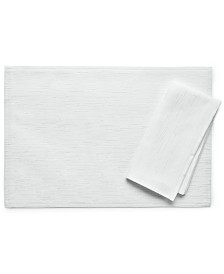 "Bardwil Continental Collection 19"" X 19"" White Napkin"