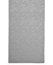"CLOSEOUT! Continental Collection 70"" Gray Table Runner"