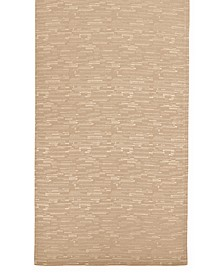 "CLOSEOUT! Continental Collection 70"" Taupe Table Runner"