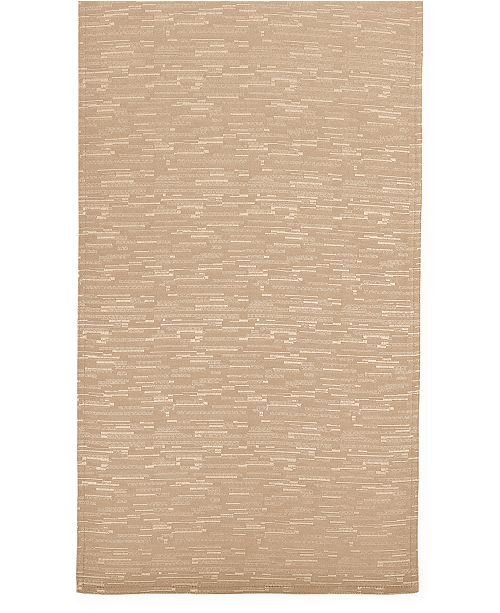 "Bardwil Continental Collection 70"" Taupe Table Runner"