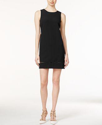 Maison Jules Lindsey Sleeveless Shift Dress, Created for Macy's