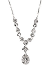 Multi-Crystal Y-Neck Necklace