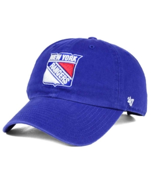 '47 Brand New York Rangers Clean-Up Cap