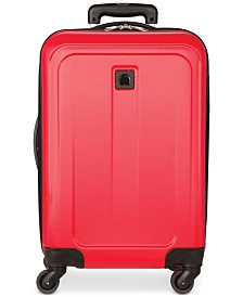 """CLOSEOUT!  Delsey Free Style 2.0 20"""" Carry-on Hardside Expandable Spinner Suitcase, Created for Macy's"""