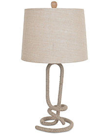 Crestview Twisted Rope Table Lamp