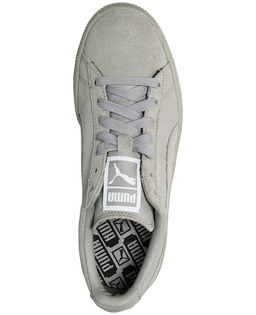 the latest fb1ee 27e28 ... Puma Women s Suede Classic Matte   Shine Casual Sneakers from Finish ...