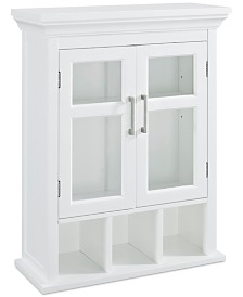 Hayde Two Door Wall Cabinet, Quick Ship