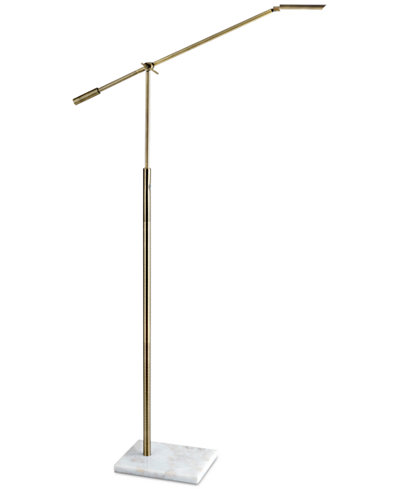 Adesso Vera Led Swing Arm Floor Lamp Lighting Amp Lamps