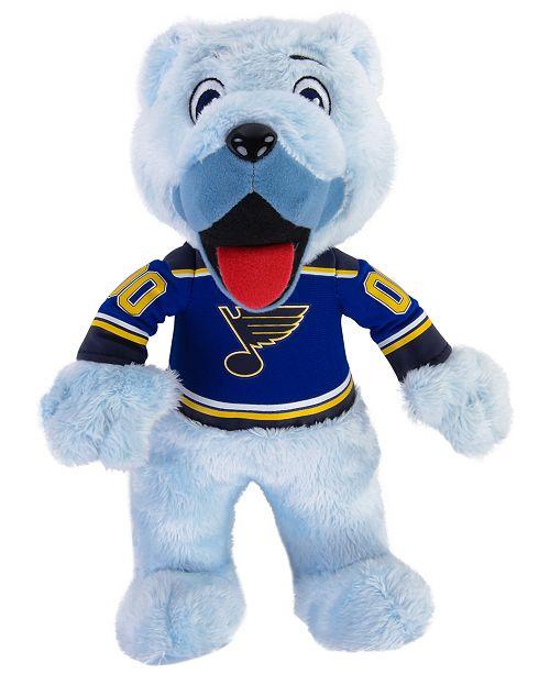 Home Decor Liquidators St Louis: Bleacher Creatures St. Louis Blues Mascot Plush Doll