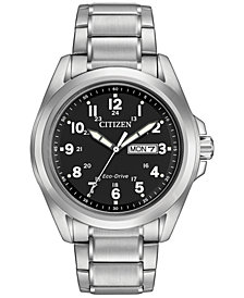 Citizen Men's Eco-Drive Stainless Steel Bracelet Watch 43mm AW0050-82E