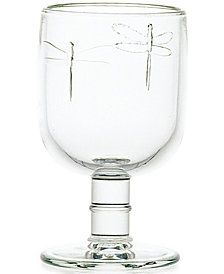 La Rochere Dragonfly 10-ounce Stemmed Water Glass, Set of 6