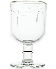 La Rochere Dragonfly 10-ounce Stemmed Water Glass, Set of 6