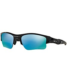 Polarized Flak Jacket XLJ Prizm Deep H20 Sunglasses, OO9011
