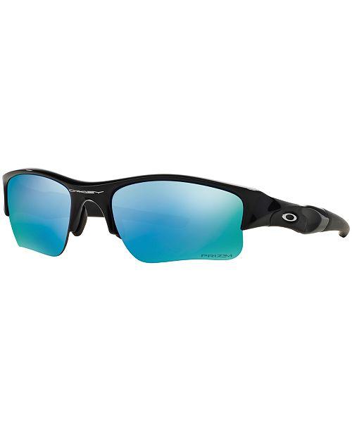 fc7f531d6c ... Oakley Polarized Flak Jacket XLJ Prizm Deep H20 Sunglasses