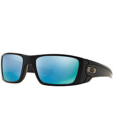 Oakley Polarized Fuel Cell Prizm Deep H20 Sunglasses, OO9096
