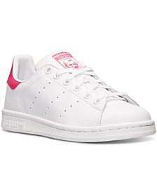 Big Girls' Stan Smith Casual Sneakers from Finish Line