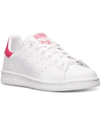 adidas Big Girls\u0027 Stan Smith Casual Sneakers from Finish Line