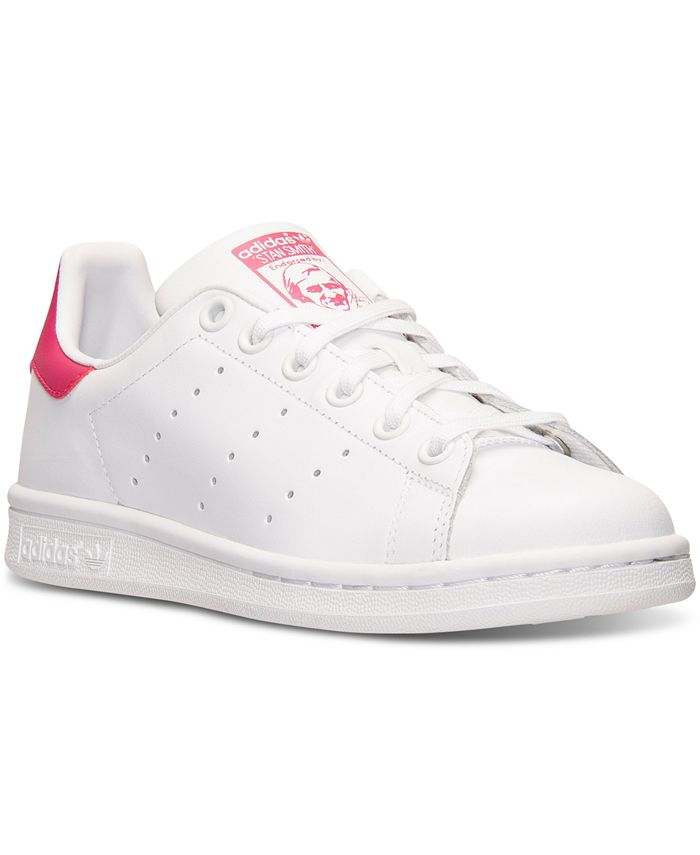 adidas Big Girls' Stan Smith Casual Sneakers from Finish Line ...