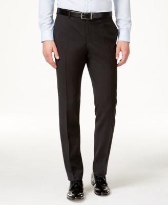 HUGO Men's Black Classic-Fit Pants