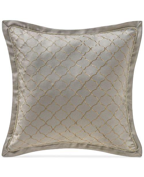 "Waterford Marcello 16"" Square Decorative Pillow"