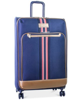 "Image of Tommy Hilfiger Freeport 28"" Expandable Spinner Suitcase, Only at Macy's"