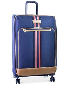 "CLOSEOUT! Tommy Hilfiger Freeport 28"" Expandable Spinner Suitcase, Created for Macy's"