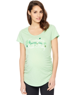 Motherhood Maternity Graphic Tee plus size,  plus size fashion plus size appare