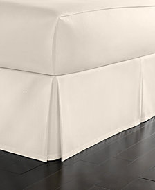 Martha Stewart Collection California King Cotton Pique Bedskirt