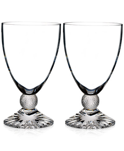 Waterford Town & Country Collection Riverside Drive Wine Glasses, Set of 2