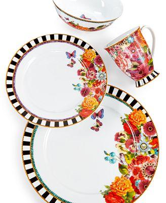 lenox dinnerware melli mello eliza stripe collection