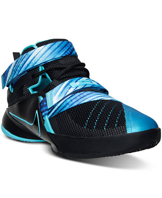best cheap aad01 d966f Nike Big Boys' LeBron Soldier 9 Basketball Sneakers from ...