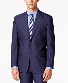 Lauren Ralph Lauren Men's Medium Blue Solid Classic-Fit Jacket