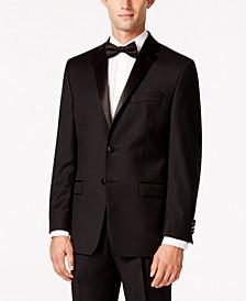Black Classic-Fit Tuxedo Jacket