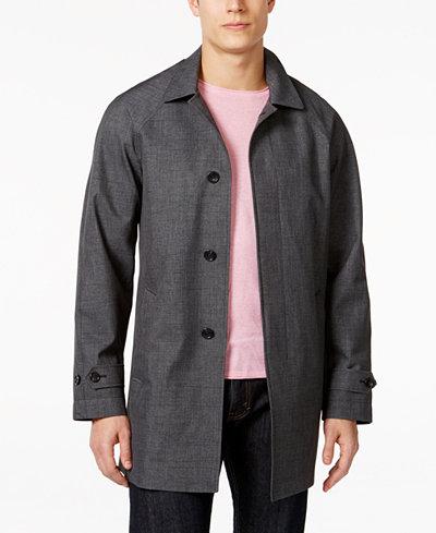 Michael Kors Men's Collin Slim Fit Rain Coat