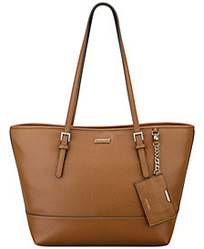 Nine West Ava Solid Color Tote