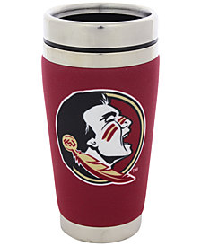Hunter Manufacturing Florida State Seminoles 16 oz. Stainless Steel Travel Tumbler
